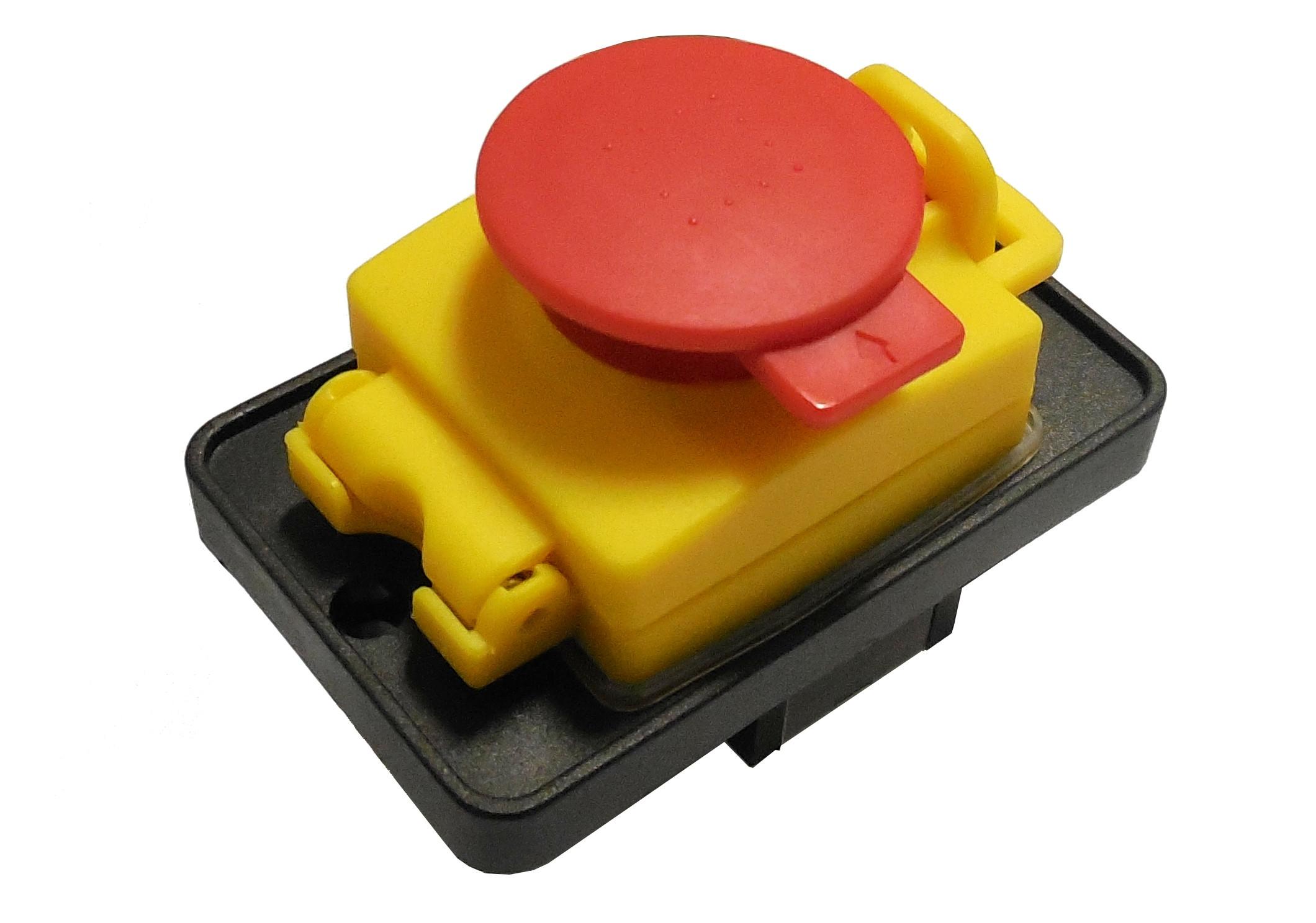 Interrupteur avec bouton arr t d 39 urgence - Bouton d arret d urgence ...