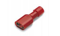 CLIP ISOLE ROUGE FEMELLE 6.35 RFF608P