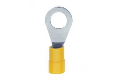 Cosse jaune ronde pré-isolée PVC