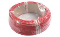CABLE CSP SILICONE TRESSE 10 ROUGE