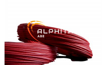 CABLE SIF-GL SILICONE TRESSE 0.5 ROUGE CUIVRE NU