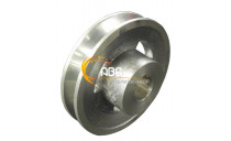 1 GROOVE PULLEY - DIAM 78 / BORE 19