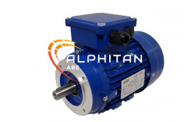 IE1 ELECTRIC MOTOR MS80B - 0.55KW 1000T 220/380 B14