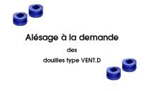 ALESAGE DOUILLE PLASTIQUE